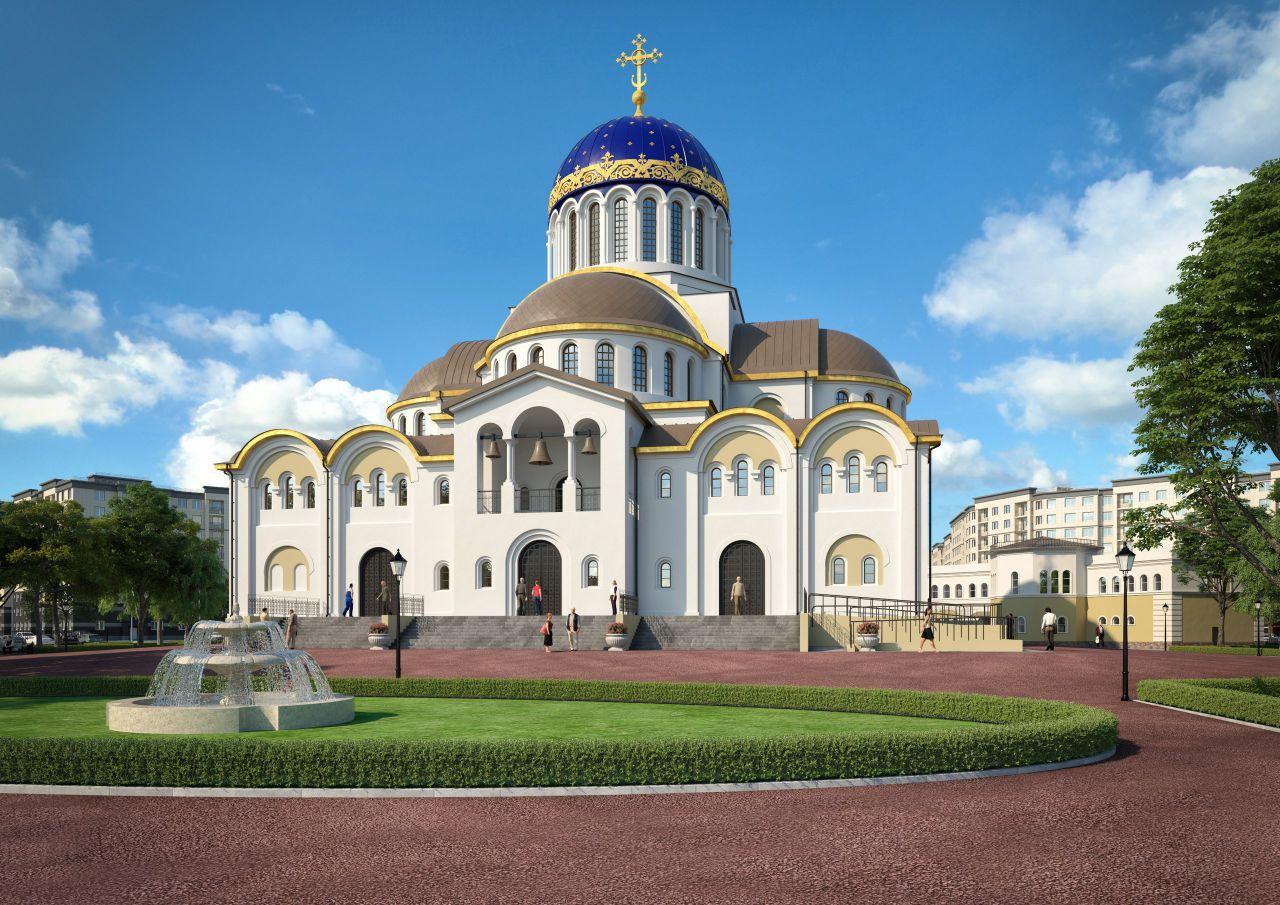 Проект Храма Скоропослушницы
