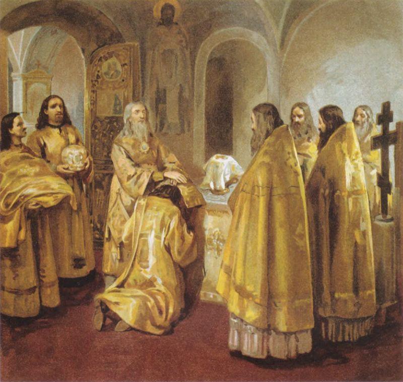 Хиротония (Таинство рукоположения- Священства)