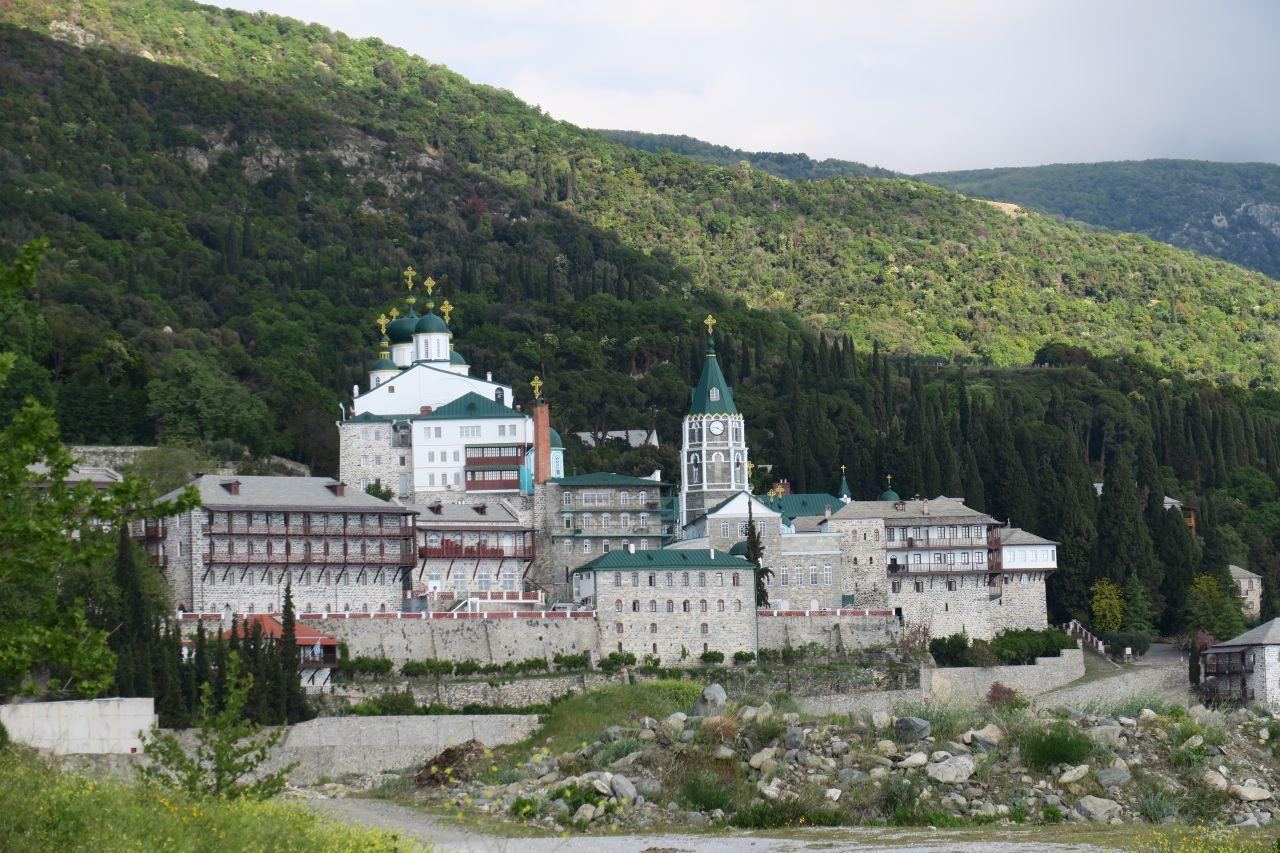 Святой Афон - Русский Пантелеимонов Монастырь