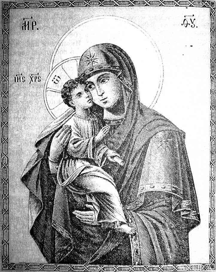 Икона Божией Матери «Акафистная»