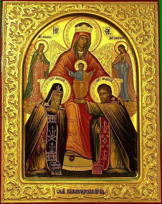 Икона Божией Матери «Печерская-Нерукотворенная»