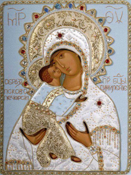 Икона Божией Матери «Умиление» Псково-Печерская