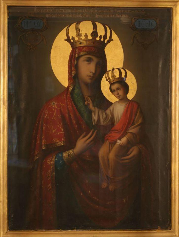 Икона Божией Матери «Черниговская-Гефсиманская»
