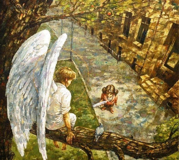 Пусть не оставляет тебя твой Ангел-хранитель