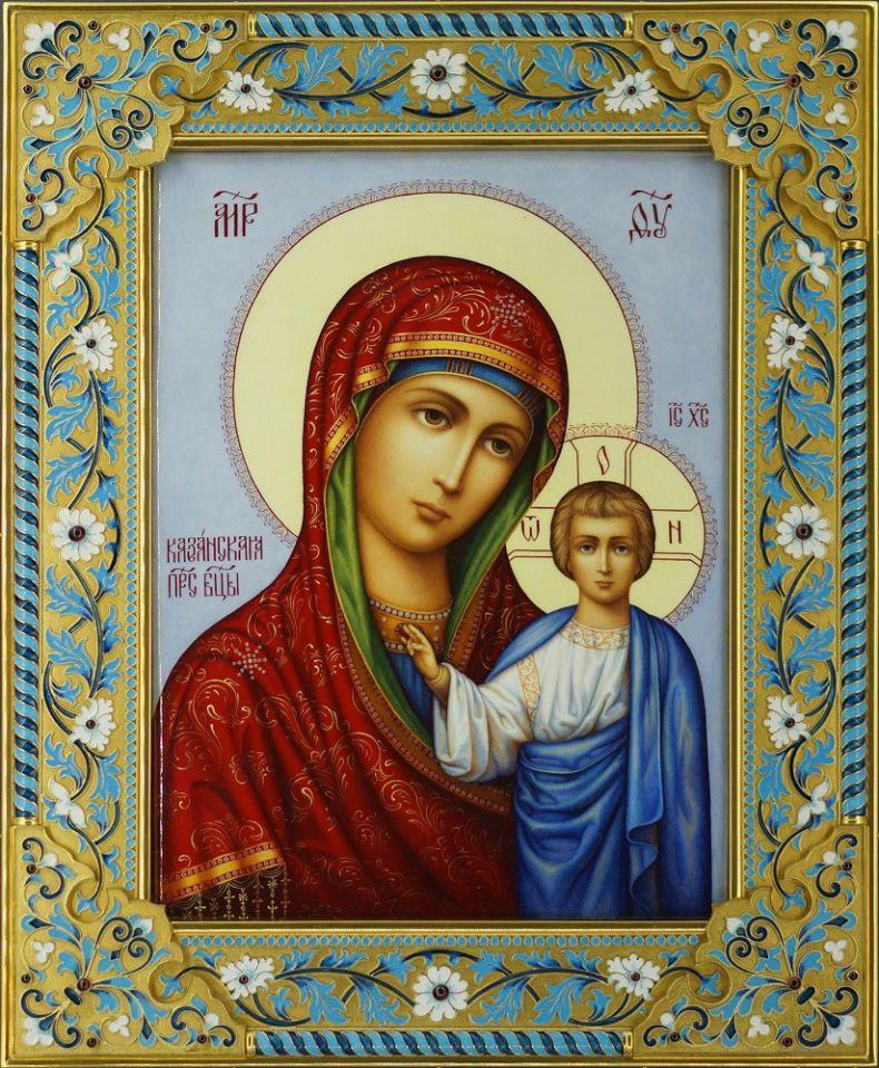 Казанская икона божией матери картинки, написал письмо деду