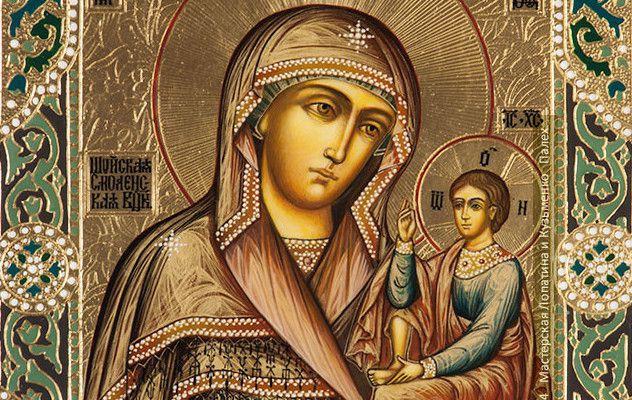 Икона Божией Матери «Одигитрия» Шуйская
