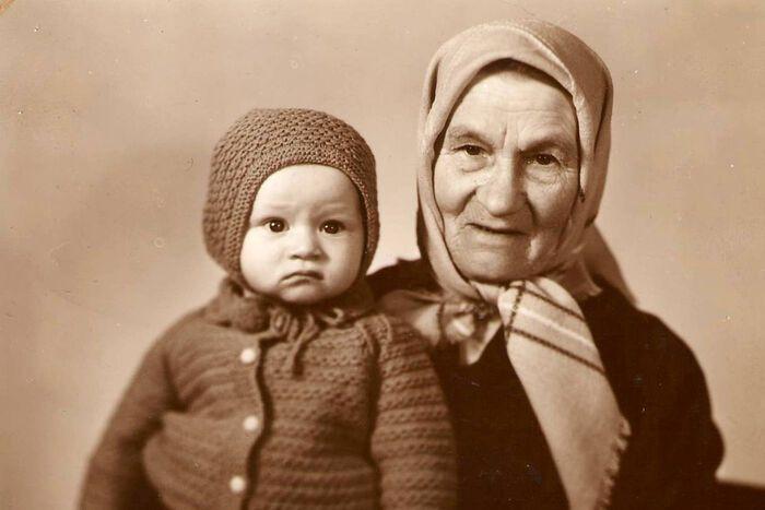 Бабушка Прасковья