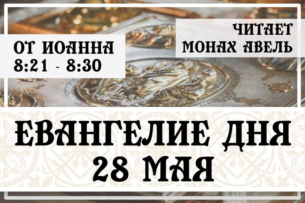 Евангелие дня / 28 мая 2021 / Ин.8:21 - 8:30