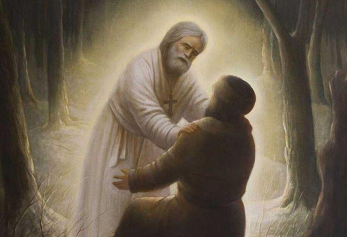 Беседа Преподобного Серафима Саровского с Н.А.Мотовиловым о стяжании Духа Святаго Божия
