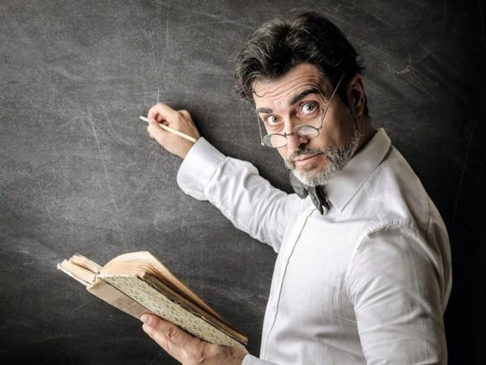 Спор профессора со студентами